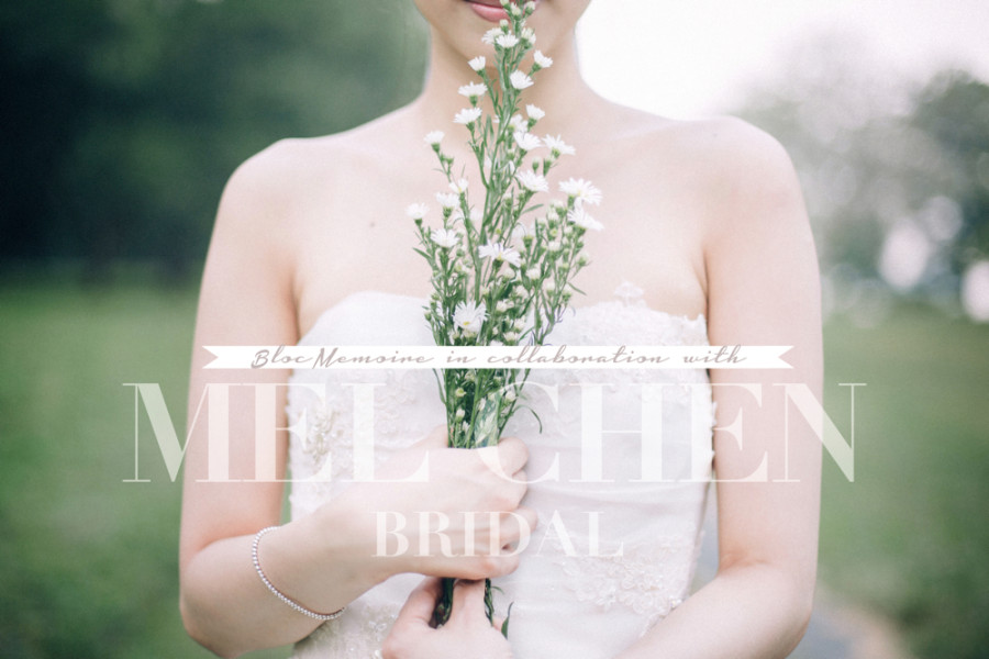 Mel Chen Bridal Gown // Styled Shoot