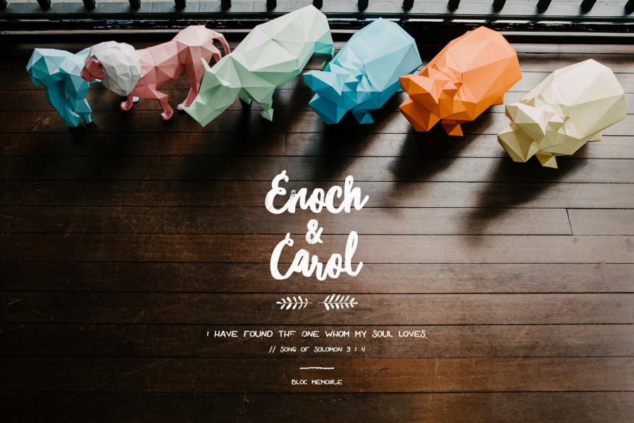 Enoch & Carol