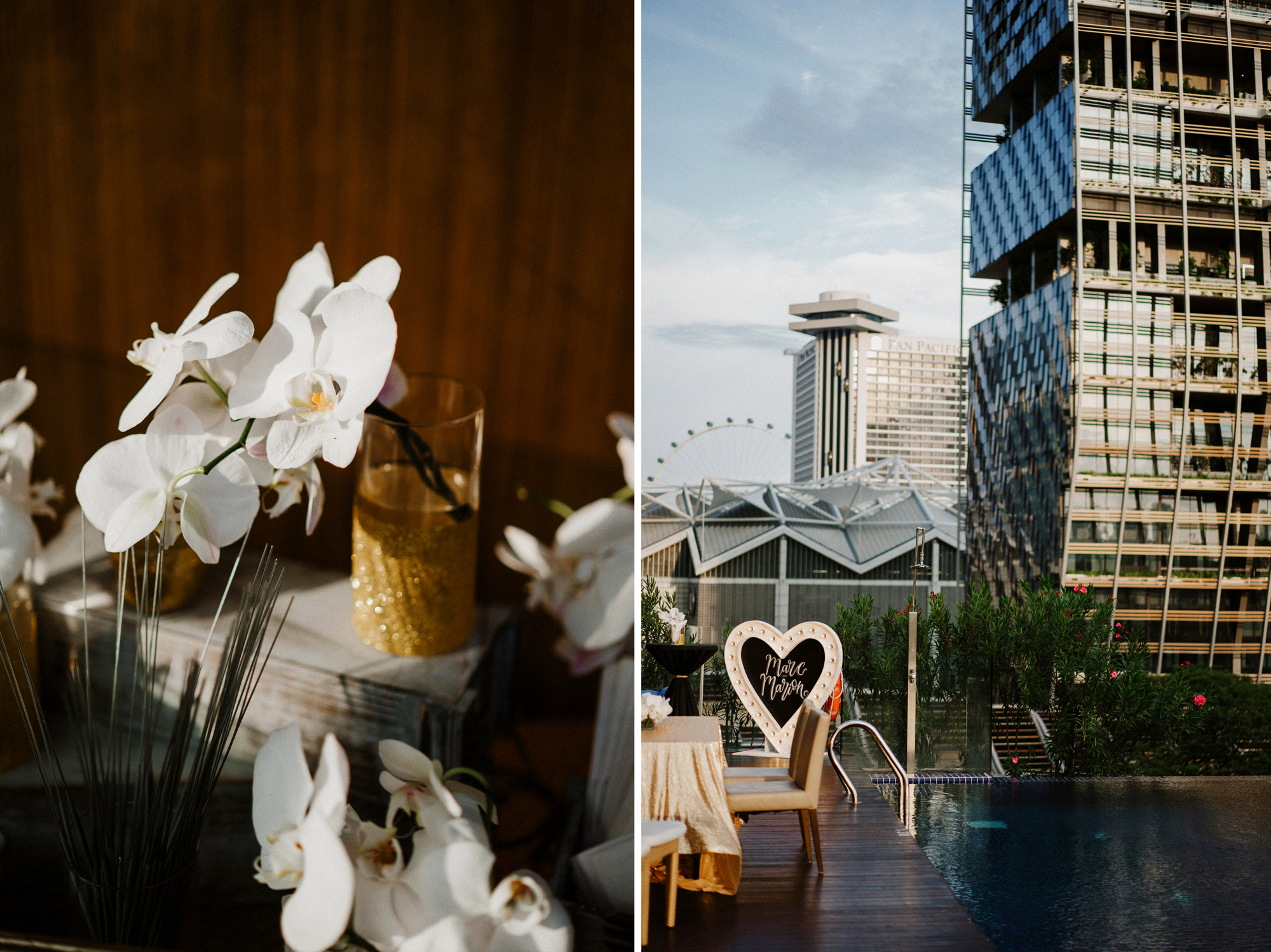 Bliss house singapore wedding