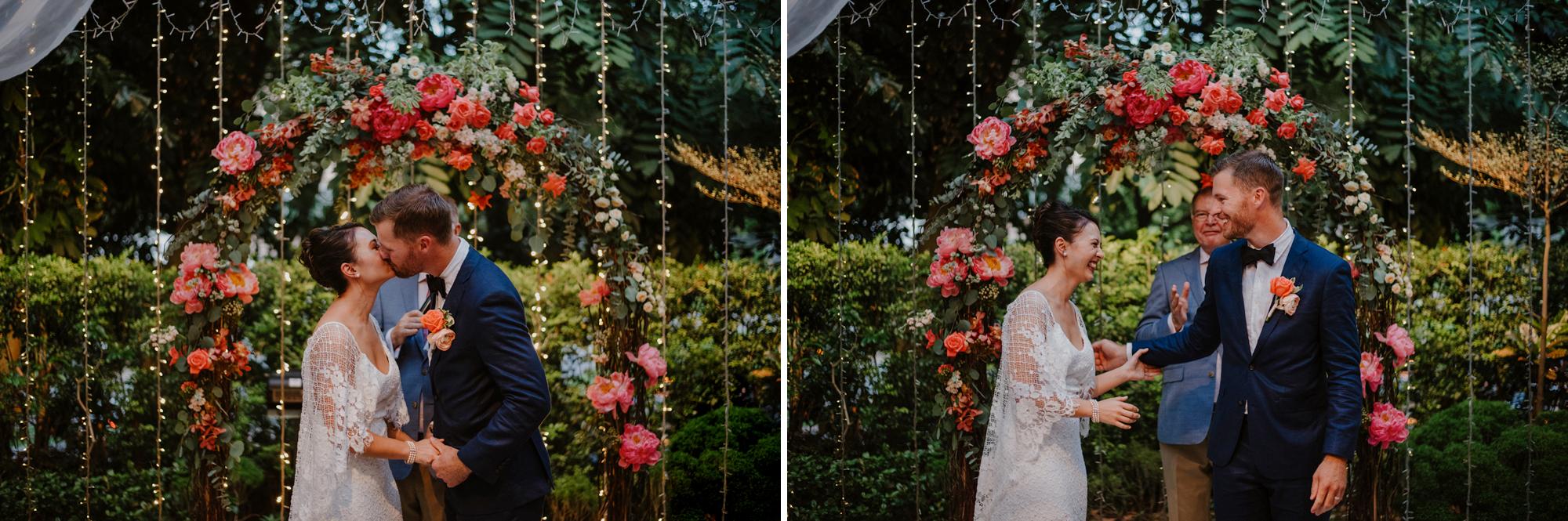 Adrian + Eugiena's Al Fresco Wedding in Singapore